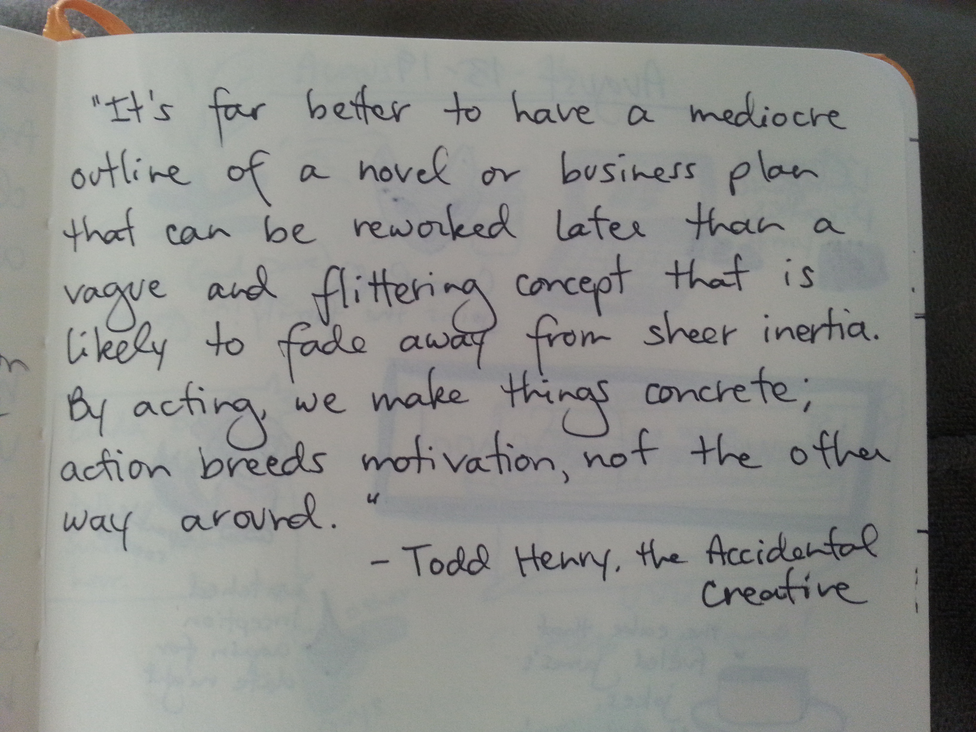 Todd Henry quote